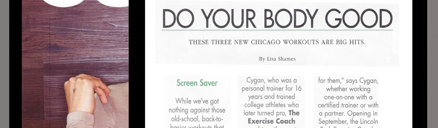 Modern Luxury Magazine: New Exercise Coach Studio to Open in Lincoln Park