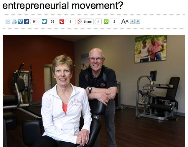 Dallas Morning News: Why Are Baby Boomers Leading the Entreprenuerial Movement?