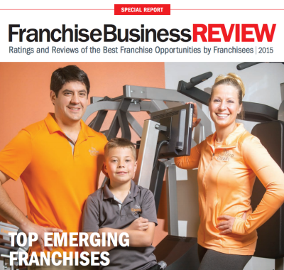 Exercise Coach Named Top Emerging Franchises 2015