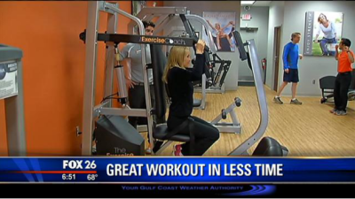 Fox Houston: Exercise Coach Features Better Workout in Less Time