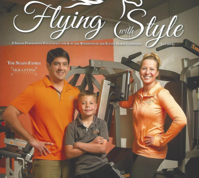 Suazo Family Feature in Flying with Style Magazine