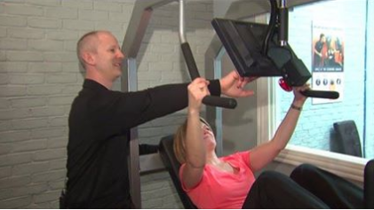 WGN TV: Brian Cygan Demonstrates Workout at new Chicago Location